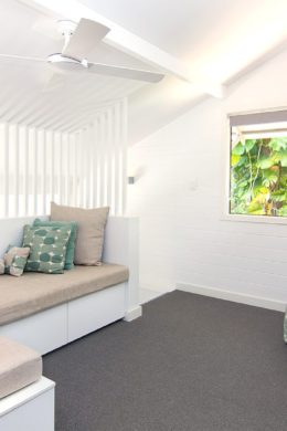 Bayshore, Bungalows, Byron, Bay, upstairs, sitting, area, premium, 2 bedroom,